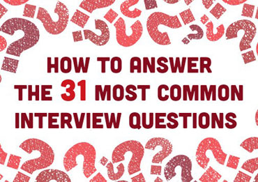 31 Most Common Interview Questions