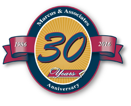 Marcus 30th Year Anniversary Seal